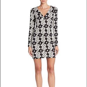 DVF Reina Silk Jersy Dress